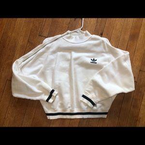 Adidas sweatshirt with zip on side